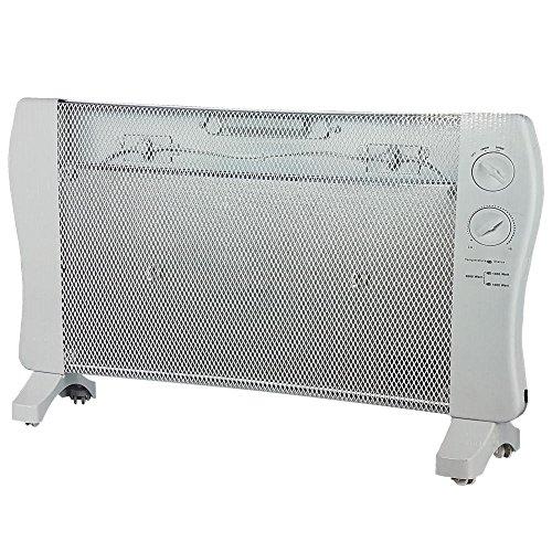 Wärmewellen-Heizung Power 2000W Wärme-Wellen-Heizgerät 2 Heizstufen Elektro-Heizung für schnelle Wärme direkt nach dem Einschalten