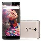 UMIDIGI Max 4G Smartphone Débloqué 5.5' IPS FHD Écran 3Go RAM + 16Go ROM MTK Helio P10(MT6755M) Octa-Core 1.8GHz Android 6.0 13.0MP Caméra Arrière Double SIM Empreinte Digitale OTG Wifi Bluetooth - Doré