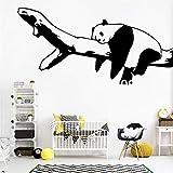 wukongsun Niedliche Panda Cartoon Wandaufkleber Kinderzimmer Schlafzimmer Wohnzimmer Dekoration...