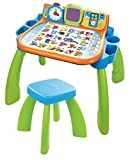 VTech 80-154605 - Jeu Educatif Electronique - Magi Bureau Interactif 3 En 1