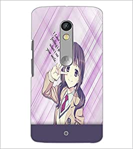 PrintDhaba Quote D-5362 Back Case Cover for MOTOROLA MOTO X PLAY (Multi-Coloured)