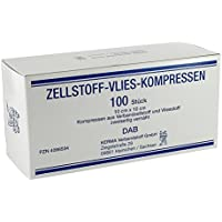 Zellstoff Vlies Kompressen 10x10cm unsteril 100 stk preisvergleich bei billige-tabletten.eu
