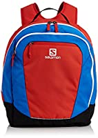 Salomon Original Gear Backpack - Bright Red/Union Blue/Black, One Size
