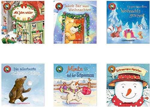 Linos kleine Weihnachtsgeschichten, Box Nr. 61: (6 x 10 Ex.) (Lino-Bücher)