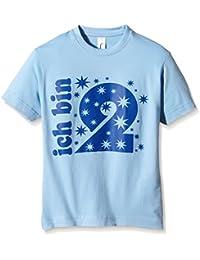 Coole-Fun-T-Shirts Jungen T-Shirt Ich Bin 2 Jahre !