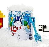sunnymi Künstlich Schnee ☆ Magie Schneepulver ☆ Weihnachten Schneeflocke ☆ Schnee Pulver ☆ Instant Xmas Magisches Schneepulver ☆ Wiederverwendbar Künstlich ☆ Weihnachten Dekoration (muti, 6.5*9)