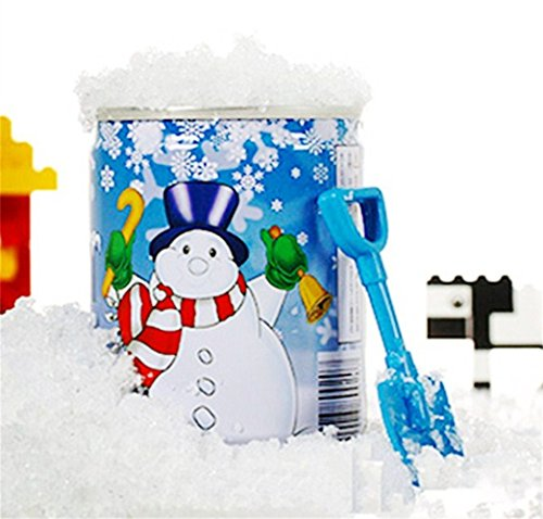 Preisvergleich Produktbild sunnymi Künstlich Schnee  Magie Schneepulver  Weihnachten Schneeflocke  Schnee Pulver  Instant Xmas Magisches Schneepulver  Wiederverwendbar Künstlich  Weihnachten Dekoration (muti, 6.5*9)