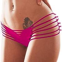Topmelon Sexy Lady Bikini Bottoms Hollow Out nappa cuore brasiliano V-Style foglio Cheeky intimo costumi da bagno