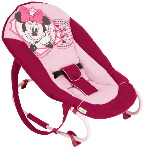 Hauck Rocky - Balancín para bebés, V-Minnie Pink II