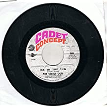 """STATUS QUO -7""""Single - Ice In The Sun/When My Mind Is Not Live,EX"""