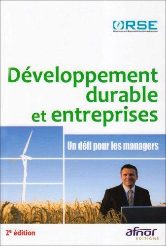 Développement durable et entreprises: U...