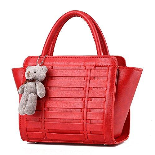 koson-man-damen-vintage-bear-dekorieren-sling-tote-taschen-top-griff-handtasche-rot-rot-kmukhb368