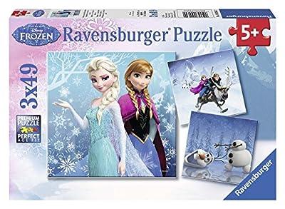 Disney Frozen - Puzzles 3 x 49 piezas (Ravensburger 09264 2) por Ravensburger
