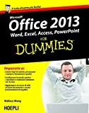 Image de Office 2013 For Dummies: Word, Excel, Access, PowerPoint (Hoepli for Dummies)