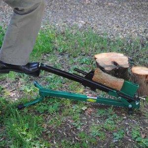 Westwoods fußbetätigten Holzspalter