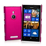 Generic Rubberised Hard Case Back Cover for NOKIA LUMIA 925 - PINK