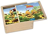 Holz-Bilderwürfel Die Biene Maja