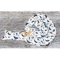 Bettschlange, Wale Maritim, Fische, 180cm/210cm/250cm, Handmade, Baby Nestchen