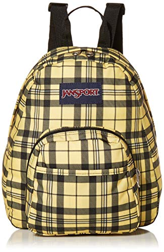 JanSport Unisex-Erwachsene Half Pint Mini Backpack, Throwback Plaid, One Size -