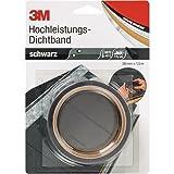 3M Deutschland Dichtband DICHT38S 38mmx1,5m, schwarz Klebeband 4046719962105