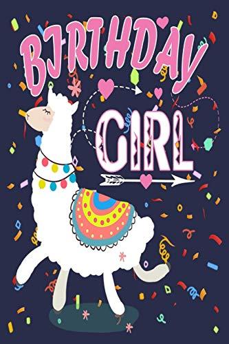 Birthday Girl: Birthday Journal Gift For Llama Lovers