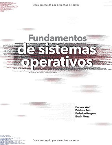 Fundamentos de sistemas operativos por Gunnar Wolf