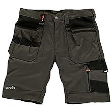 Scruffs T52814 Men's Trade Shorts Slate, 40-Inch (Manufacturer size: 56)