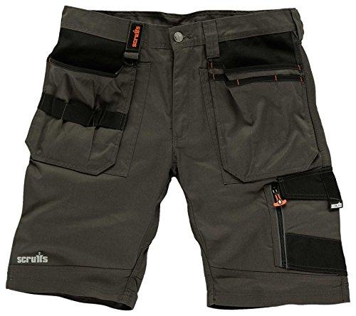 Scruffs Herren Shorts Trade, slate, 52 (Herstellergröße: 36)