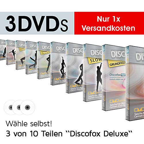 Discofox Deluxe | 3 DVDs nach Wahl | nur 1x Versandkosten [DVD] Sascha Kai Ol...