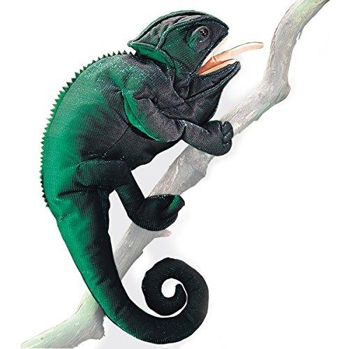 Folkmanis 2215 - Marioneta camaleón
