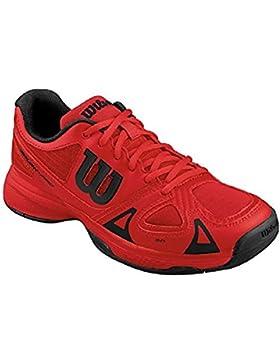 Wilson Rush Pro Jr, Zapatillas de Tenis Unisex Niños
