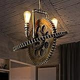 ZHAS Loft Retro Bügeleisen Deckenleuchten Gang Treppen Balkon Eingang Lampen und Laternen Restaurant Kleines Schlafzimmer mit Einem Kopf E 27, 36 * 25 cm mehrere Stile (Farbe: #1)