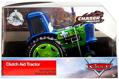 Disney Set automobiline in metallo - Clutch Aid Tractor, Pixar Cars 3