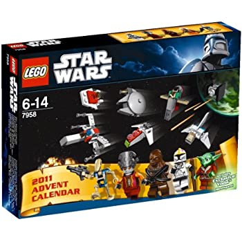 LEGO Star Wars 7958: Advent Calendar: Amazon.co.uk: Toys & Games