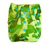 Alva Baby AL2Farbe Snap verwendbar waschbar Pocket Tuch Windel Windel mit 2Einsätzen