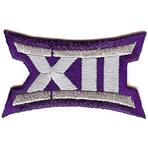 Big 12 XII Conference Team Jersey Uniform Patch TCU Horned Frogs by Patch Collection