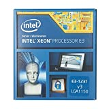 Intel Xeon Processor E3-1231 v3 (Quad Core 3.40 GHz, 8M Cache, Socket 1150)