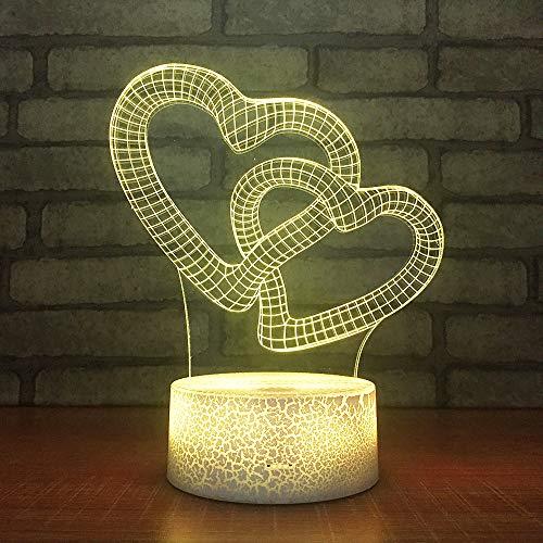 BFMBCHDJ Kreative Bunte Acryl Flache Touch Schreibtischlampe Urlaub Dekoration Baby Zimmer Geschenk Geschenk USB Schreibtischlampe A1 Schwarz basis