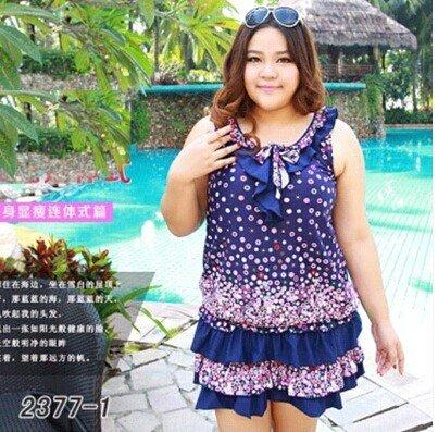 XL übergewichtige Strand Rock Bikini Badeanzug 5XL 01