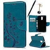 MAXFE.CO Lederhülle Leder Tasche Case Cover für Motorola