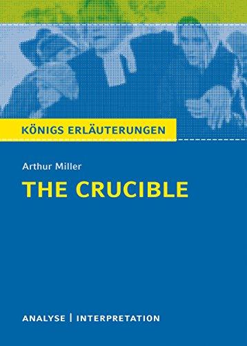 the crucible arthur miller analysis
