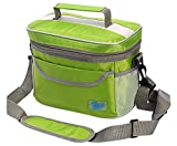 CHASIY Insulated COOLER / THERMAL Bag for Outdoors, Picnic, Travel, Carrying Meals and Many Other Purposes (Green)