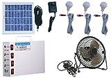 #1: Vicco Solar Home Light Set 6 Volt + 6