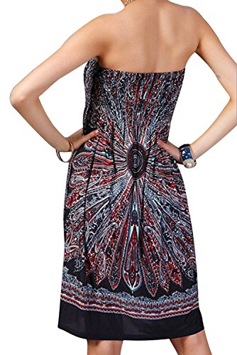 Landove Damen Kleid color 10
