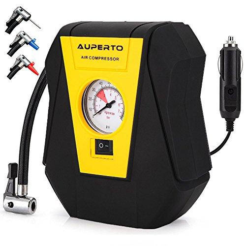 Namotu Luftkompressor - Tragbar luftpumpe DC 12V Kompressor 100 PSI Für Autos, Fahrräder und Basketball,mit GARANTIE
