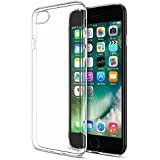 iPhone 7 Plus Case, Maxboost® [Liquid Skin] 0.4mm Ultra Clear Soft Flexible Extremely Ultra Thin Gel TPU Skin Scratch-Proof Cases for Apple iPhone 7 Plus / 7 Pro (2016) &iPhone 6/6sPlus - Clear