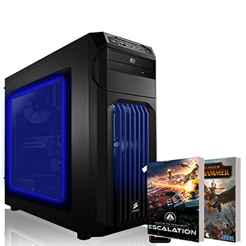 AGANDO Extreme Gaming PC | AMD FX-6300 6x 3.5GHz | AMD Radeon RX 470 4GB OC | 8GB RAM | 1000GB HDD | DVD-RW | MSI Gaming Mainboard | USB3.0 | Killer LAN | AUDIO-BOOST | WLAN | 36 Monate Garantie | Computer für Multimedia, Gaming, Büro/Office + 2 Gratis Spiele