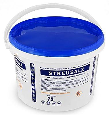 10Kg Streusalz im praktischem Eimer