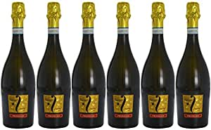 Fantinel Prosecco Extra Dry Sparkling Wine Veneto Non Vintage, 75 cl (Case of 6)