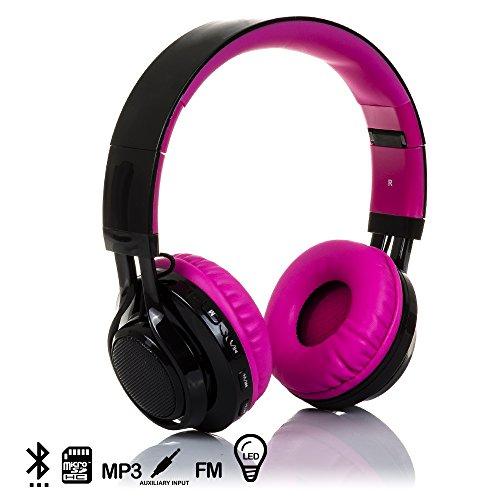Silica DMX017PINK DMX017PINK - Cascos Bluetooth Radio